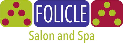 folicle hair salon logo
